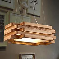preiswerte -15 Pendelleuchten ,  Zeitgenössisch / Rustikal Andere Feature for Ministil Holz/Bambus Esszimmer / Studierzimmer/Büro