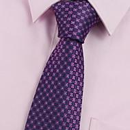 Homme Soirée / Travail / Basique Cravate - Imprimé