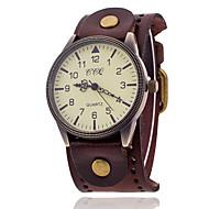 Xu™ Homens Relógio de Pulso Quartzo Náilon Banda Preta Branco Azul Vermelho Laranja Marrom Verde