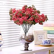 preiswerte -Künstliche Blumen 1 Ast Simple Style Pflanzen / Schleierkraut Tisch-Blumen