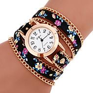 Žene Narukvica Pogledajte Casual sat Analog dame Cvijet Boemski stil Moda - 7 # # 8 9 # Jedna godina Baterija Život