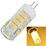 billige Bi-pin lamper med LED-1pc 5.5 W 500-600 lm G4 LED-lamper med G-sokkel 51 LED perler SMD 2835 Dekorativ Varm hvit / Kjølig hvit 220-240 V / 1 stk. / RoHs