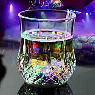 2 ks / set led ananas design plastový bleskový pohár pro party
