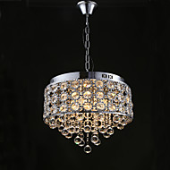 Modern/Contemporary Crystal Designers Chandelier Downlight For Living Room Bedroom Kitchen Dining Room Study Room/Office Hallway 110-120V