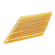 12プロのヘアエクステンションのneitsi®セットケラチン銃ボンドスティックのり(黄)