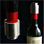 お買い得  バー用品-ワインストッパー ステンレス鋼, ワイン アクセサリー 高品質 クリエイティブforBarware 5.5*4.3*4.3 0.04
