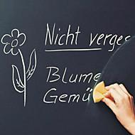 billiga Väggklistermärken-Svarta tavlan Väggklistermärken Väggklistermärke i svarta tavlanstil Dekrativa Väggstickers, Vinyl Hem-dekoration vägg~~POS=TRUNC Vägg
