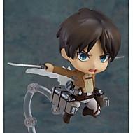 Attack on Titan Eren PVC Figure 10CM Attack on Titan Anime Collectible Model Toy