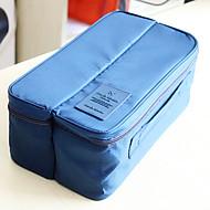 Reisekoffersystem Reisekosmetiktasche Tragbar Multi-Funktion Kulturtasche für Kleider BH Socken Unterwäsche Nylon /