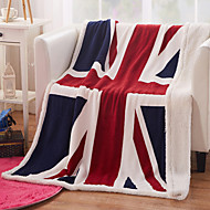 Tecido Multi Cores Animal Cashmere cobertores 130*160cm