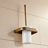 preiswerte Toilettenbürstenhalter-WC-Bürstenhalter Neoklassisch Messing 1 Stück - Hotelbad