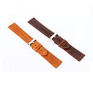 billiga Smart klocka Tillbehör-20 mm äkta läder sportklocka spänne för samsung växel s2