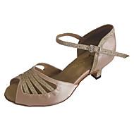 Women's Latin Shoes Heel Open Toe Dance Sandals More Colors Customizable