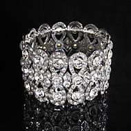 preiswerte Bezaubernd-Damen Kette / Runde Armreifen Armband Legierung Strass eleganten Stil