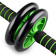 baratos Equipamentos & Acessórios Fitness-Rolo de roda ab Com Borracha Baixo Ruido, Durável, Aperto de espuma Perda de peso, Estabilidade do Core, Tonificação Abdominal Para Exercício e Atividade Física / Ginásio / Exercite-se braço, Perna