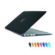 tanie Akcesoria do MacBooka-MacBook Futerał na Solid Color Przezroczysty/a ABS MacBook Air 11 cali MacBook Pro 15 cali z wyświetlaczem Retina MacBook Pro 13- palců s