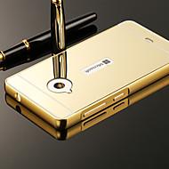 のために Nokiakケース メッキ仕上げ / ミラー ケース バックカバー ケース ソリッドカラー ハード アクリル Nokia ノキアLumia 535