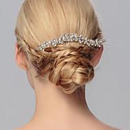 kristalna češlja češlja glavni dio vjenčanja elegantan ženski stil