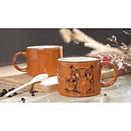 håndmalede keramik kop store krus personlighed kaffekop retro restaurant kop te 300 ml