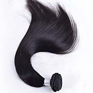 "50g 1pcs 8""-26"" Brazilian Virgin Hair Natural Black Color Straight Hair Raw Human Hair Bundles Sale"