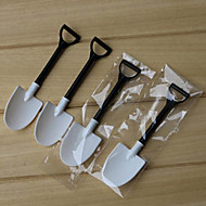 cheap -100pcs Kitchen Utensils Tools Plastics Spades & Shovels Dessert Spoon Novelty Ice Cream