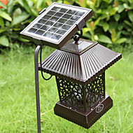 cheap Outdoor Lighting-Solar Insect Zapper Mosquito Killer Bug Trap Electric Pest Fly Catcher Terminator UV