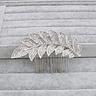 cheap Dazzling Accessories-Rhinestone Hair Combs 1 Wedding Special Occasion Casual Office & Career Outdoor Headpiece
