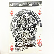 1 Pcs Waterproof Temporary Tattoo(26cm*19.3cm)