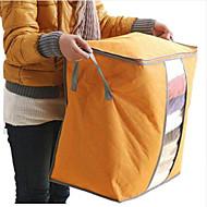 billige Lagring og oppbevaring-tekstil Plast Oval Med lokk Hjem Organisasjon, 1pc Oppbevaringskasser
