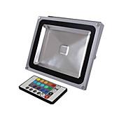 baratos Focos-1pç 20 W 1900 lm Lâmpada de LED Inteligente 1 Contas LED LED Integrado Controle Remoto / Decorativa RGB 85-265 V