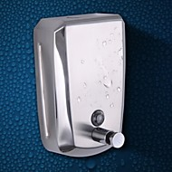 Soap Dispenser / Mirror Polished Stainless Steel /Contemporary