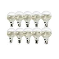 billige Globepærer med LED-E26/E27 LED-globepærer A80 18 leds SMD 5630 Dekorativ Varm hvit Kjølig hvit 900lm 3000/6000K AC 220-240V