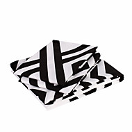 cheap Sheet Sets & Pillowcases-Sheet Set - Microfibre Pigment Print Stripe 2pcs Pillowcases (only 1pc pillowcase for Twin or Single)