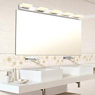 billige Vanity-lamper-AC 110-130 AC 220-240 25W Integrert LED Moderne/ Samtidig Elektrobelagt Trekk for LED Pære inkludert,Atmosfærelys Baderomslys Vegglampe