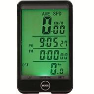 산악 자전거 / 도로 자전거 / BMX / 고정 기어 자전거 / 레크 리에이션 사이클 자전거 디지털 장비주행 거리계(오도미터) / 백라이트 / Tme - Lapsed Time / 방수 / 최대-최대 속도 / 주행 기록계 / SPD - 현재 속도