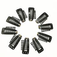 Klipsy Klipsy Potřeby na prodlužování vlasů Měď 20 Nástroje paruky vlasy