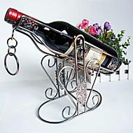 אמנות אופנת קישוטי רטרו יין באיכות גבוהה מתל יין בעל בית ריהוט כרום ציפוי