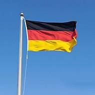 2016年ドイツフラグポリエステルフラグ5 * 3フィート150 * 90センチメートル高品質、安い価格で現物撮影(無旗竿)
