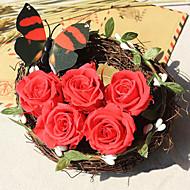 billige Kunstig Blomst-Kunstige blomster 1 Afdeling Moderne Stil Roser Bordblomst