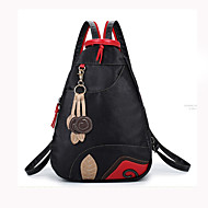 Women Bags PU Backpack School Bag Travel Bag for Shopping Casual Outdoor Spring All Seasons Black
