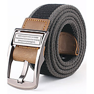 Masculino Cinto para a Cintura Festa / Trabalho / Casual Liga Lona Masculino