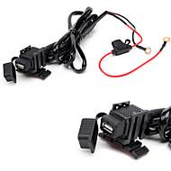 お買い得  車用チャージャー-JTRON防水車のUSB電話/ナビゲーション車の充電器 - 黒