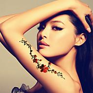 billige Midlertidig maling-Vandtæt Ansigt / hænder / arm Midlertidige Tatoveringer 1 pcs Kropskunst Daglig