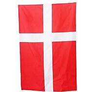 Uusi 3ft x 5ft roikkuu lippu polyesteri tanska lippu bannerin sisustus