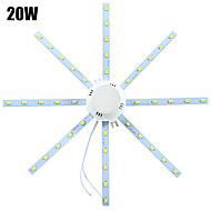 ywxlight® led-plafondverlichting 40 smd 5730 1600-1920 lm koudwit 6000-6500 k decoratief ac 220-240 v