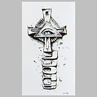 Χαμηλού Κόστους Τατουάζ, Τέχνη του Σώματος-1 Non Toxic Μοτίβο Waterproof Αυτοκόλλητα Τατουάζ Κλασσικό Υψηλή ποιότητα Καθημερινά