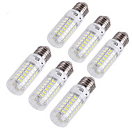 billige Kornpærer med LED-4W E14 E26/E27 LED-kornpærer T 69 leds SMD 5730 Dekorativ Varm hvit Kjølig hvit 280lm 3000/6000K AC 220-240 AC 110-130V