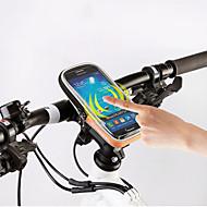 Χαμηλού Κόστους Τσάντες για τιμόνι ποδηλάτου-ROSWHEEL Κινητό τηλέφωνο τσάντα / Τσάντα για τιμόνι ποδηλάτου 5.5 inch Οθόνη Αφής Ποδηλασία για Samsung Galaxy S6 / iPhone 5C / iPhone 4/4S / iPhone 8/7/6S/6 / Αδιάβροχο Φερμουάρ