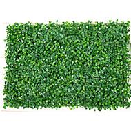 Simulação de 60x40cm pequena parede de planta de grama decorada retângulo