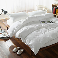 cheap Duvet Covers-Duvet Cover Sets Plaid 4 Piece Cotton Yarn Dyed Cotton 1pc Duvet Cover 2pcs Shams 1pc Flat Sheet